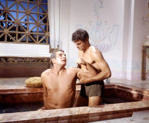 """Diese Szene galt als homoerotisch und wurde aus """"Spartacus"""" herausgeschnitten."""