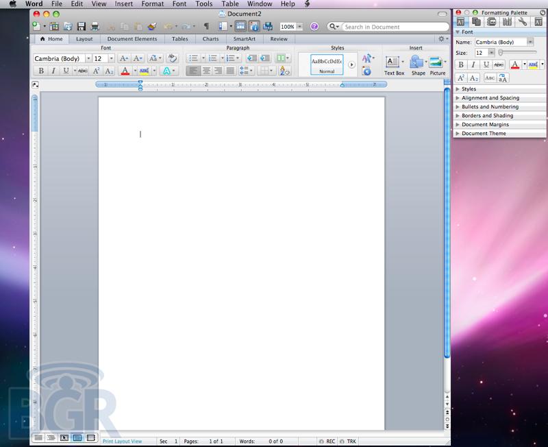 Microsoft Office 2011