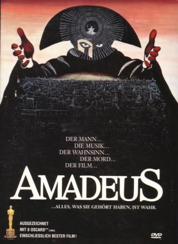 Cover »Amadeus«, 1984, Regie: Milos Forman