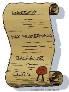 Der Bachelor-Abschluss ist eigentlich sehr alt – wurde jetzt aber komplett neu erfunden.