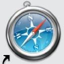 modernes Safari-Icon (groß)