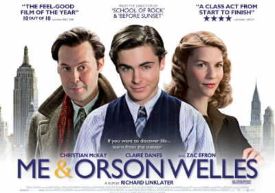 """Me and Orson Welles"" (2008), US-Kinoplakat"