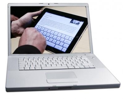 iPad und Laptop sind zwei verschiedene Gerätekategorien.