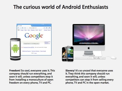 Apple's iPhone and the Curious World of Android Enthusiasts – www.roughlydrafted.com