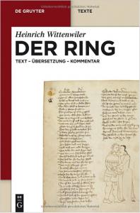 """Cover: Heinrich Wittenwiler """"Der Ring"""", Übersetzung von Werner Röcke"""