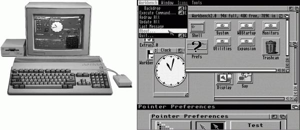 Die Workbench war eine mächtige grafische Benutzeroberfläche, aufgrund des Computer-Image erzielte sie jedoch nie die große Bedeutung.