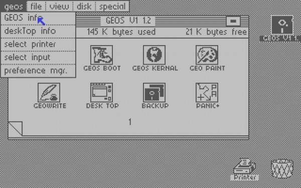 GEOS bot für den Commodore 64 (und damit auch für den C128) eine grafische Benutzeroberfläche.
