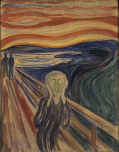 """Edvard Munch: """"Der Schrei"""" (1910?)"""
