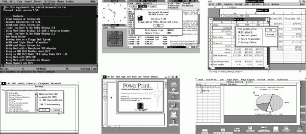 In den 1980ern war das Angebot an Office-Software noch deutlich vielfältiger als bei der heutigen Monokultur und den Pseudo-Standards von Microsoft Office.