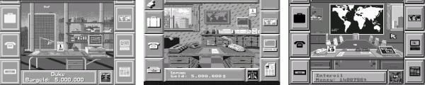"""Das Simulationsspiel """"Oil Imperium""""bot zahlreiche virtuelle Schreibtische."""