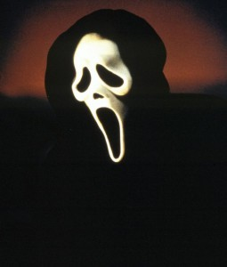 "Maske aus der Horrorfilm-Serie ""Scream"" (1996, 1997, 2000)"