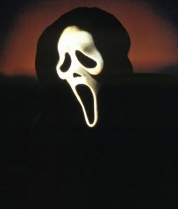 """Maske aus der Horrorfilm-Serie """"Scream"""" (1996, 1997, 2000)"""