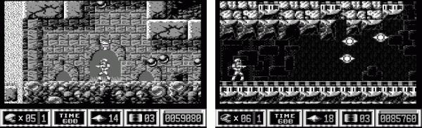 """Mit zahlreichen Tricks und Kniffen entstanden die Spielwelten und Soundeffekte von """"Turrican""""und """"Turrican II"""" auf dem Commodore 64: Die Spielwelten bestanden nur aus einem veränderten Zeichensatz."""