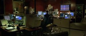 """Screenshot """"Bourne Identity"""": Computer aus = Film zuende"""