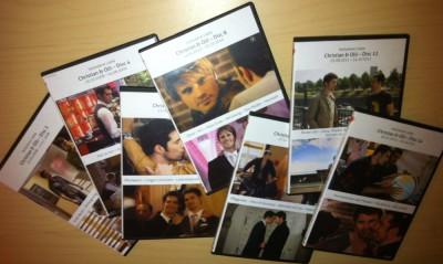 Chrolli aus Verbotene Liebe auf selbst gebastelten DVDs