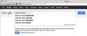 Die Antwort, ob Manuel Neuer schwul ist, gibts erst einen Klick später.