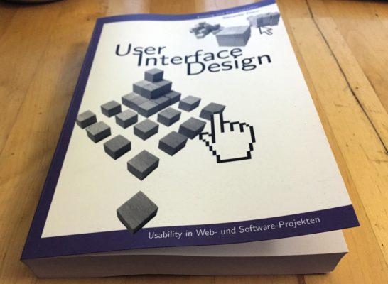 """Cover Buch """"User — Interface — Design""""von Alexander Florin"""