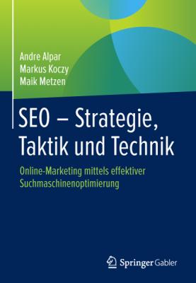 """Cover Buch """"SEO – Strategie, Taktik und Technik""""von AKM3"""
