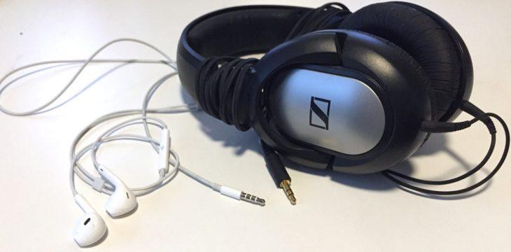 Kopfhörer mit 3,5mm Klinkenstecker