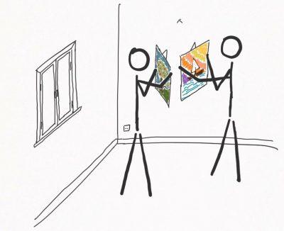 Im geteilten Raum wird jedes Detail sozial ausgehandelt.