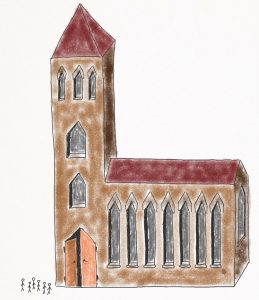 Die Kirche als fremder Raum