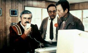"""In """"Star Trek IV"""" scheitert Scottie an der Bedienung, denn die Maus reagiert nicht auf Spracheingabe."""